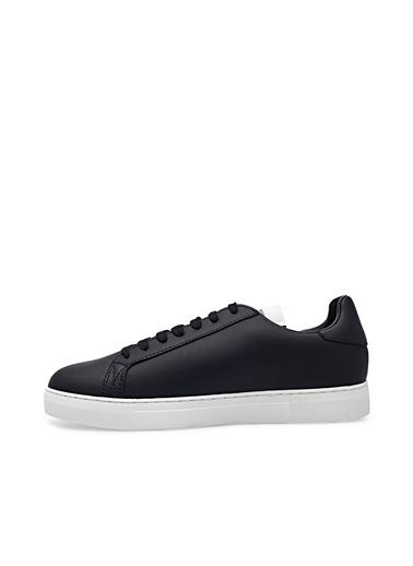 Emporio Armani  Deri Ayakkabı Erkek Ayakkabı X4X540 Xm782 N814 Siyah